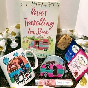 Rosie's Travelling Tea Shop Book & Cup Gift Box